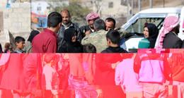 Afrinliler ÖSO'daki akrabalarına kavuştu