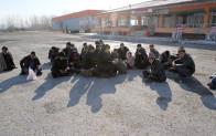 Edirne'de göçmen ve sığınmacı operasyonu