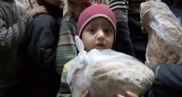 İHH'den Afrinli ailelere gıda yardımı