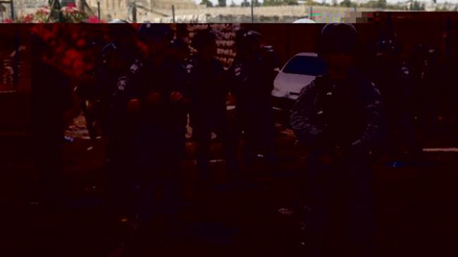 İsrail polisinden Müslüman mezarlığına baskın