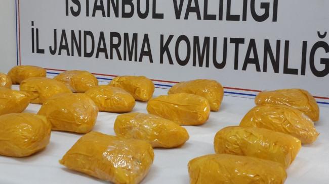 İstanbul'da lokantada 15 kilo eroin ele geçirildi