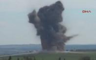 Savaş uçakları teröristlerin kulesini imha etti