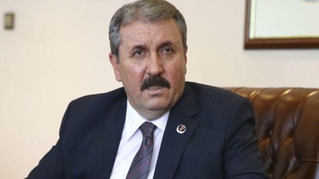Mustafa Destici AK Parti Genel Merkezi'nde