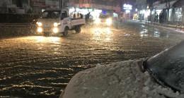 Edirne'de ve Tekirdağ'da kar yağışı başladı
