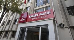 Saadet Partisi 1 Nisan'da parti genel merkez binasını devredecek