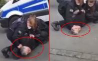 Almanya'da polisin Türk iş insanına uyguladığı şiddet George Floyd olayını hatırlattı