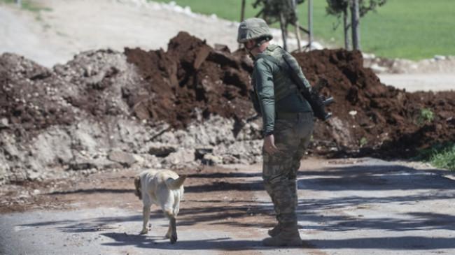 """Afrin'deki patlayıcıları """"Leylak"""" buluyor, """"METİ"""" imha ediyor"""