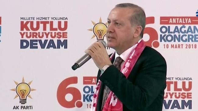 Cumhurbaşkanı Erdoğan: İşgalci ve sömürgeci olmadık