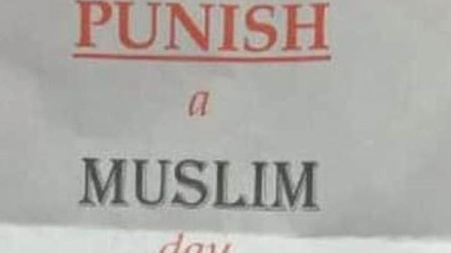 İngiltere'de Müslüman cezalandırma günü