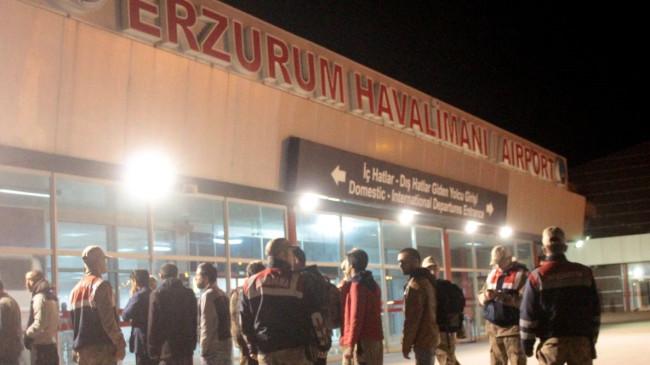 Erzurum'da 227 Afgan göçmen sınır dışı edildi